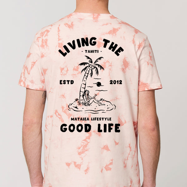 T-shirt Homme Living the good life