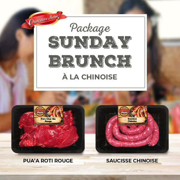 Package Sunday Brunch à la chinoise