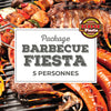 Packages BBQ Fiesta 5 personnes
