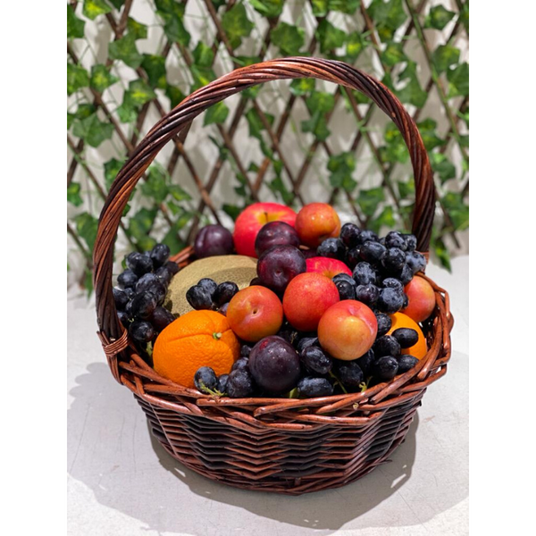 Corbeille de fruits 6kg 4 pers. - Pacific Fresh Online