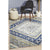 Babylon Diamond Navy Rug