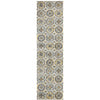Babylon Jewel Blue Runner Rug