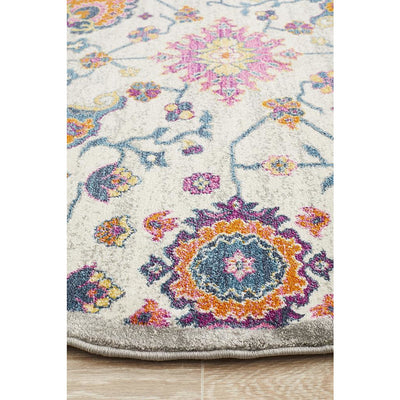 Babylon Multi Dawn Round Rug