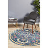 Babylon Navy Dawn Round Rug