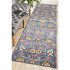 Babylon Blue Love Runner Rug