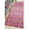 Babylon Fuchsia Love Runner Rug