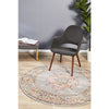 Babylon Grey Persian Round Rug