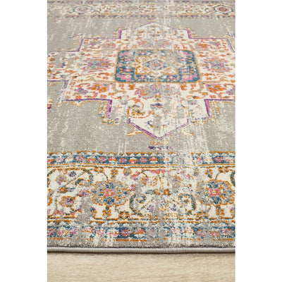 Babylon Grey Persian Rug