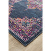 Babylon Navy Persian Runner Rug