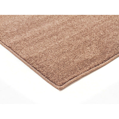 Dense Plain Stone Coloured Rug