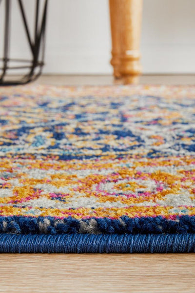 Evoke Splash Multi Transitional Runner Rug