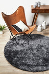 Plush Luxury Shag Rug Charcoal