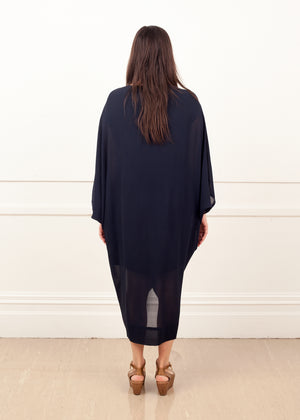 Fraser Crowe Diamond Dress Ink, ethical fashion, sustainable fashion, designer clothes, plus size clothing, textile print clothing, luxury online fashion, slow fashion