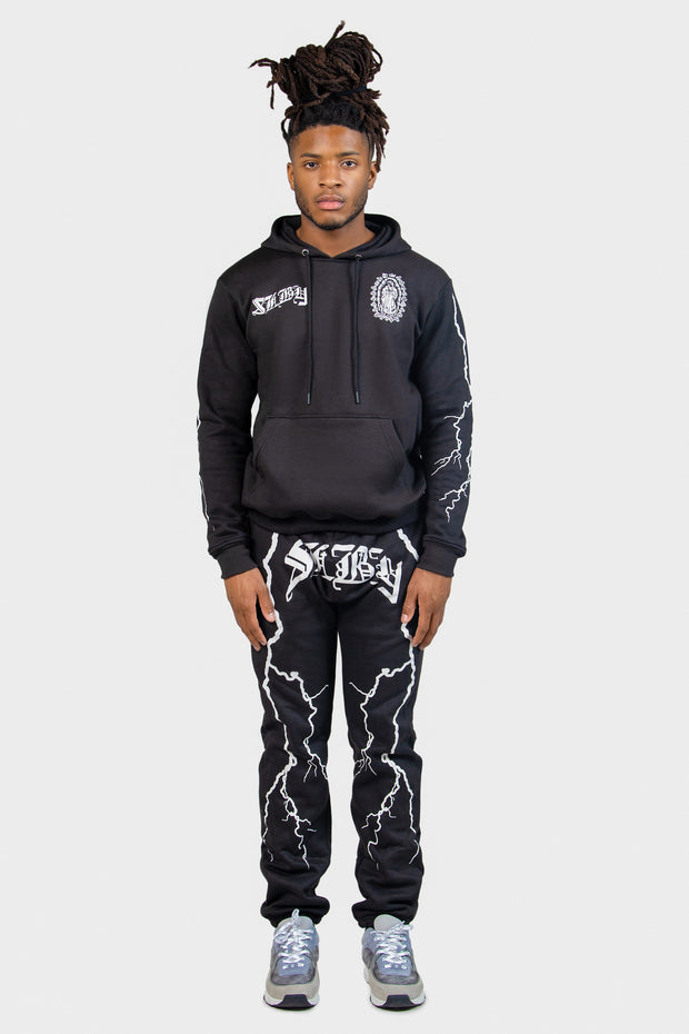 Stormy Nights Sweatpants (Black)