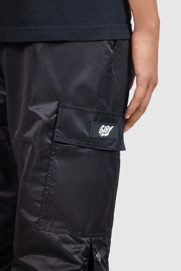 Detachable Cargo Pants (Black)