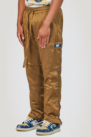 Detachable Cargo Pants (Brown)