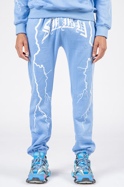 Stormy Nights Sweatpants (Baby Blue)