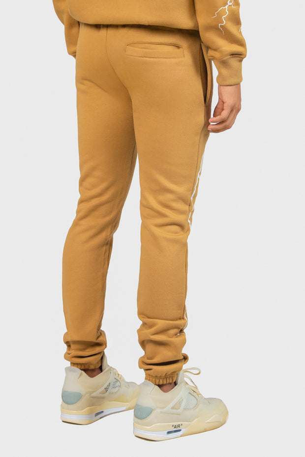 Stormy Nights Sweatpants (Tan)