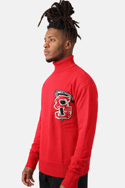 Reaper Turtle Neck (Red)