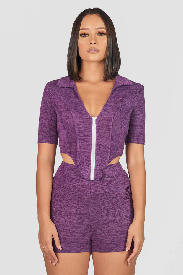 Corset 2 Piece (Purple)