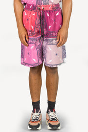 Patchwork Bandit Short (Salmon)
