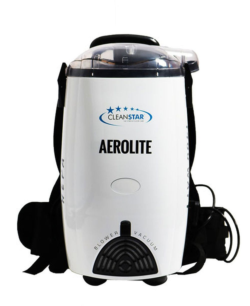 Cleanstar Aerolite White Backpack 1400w Vacuum Cleaner