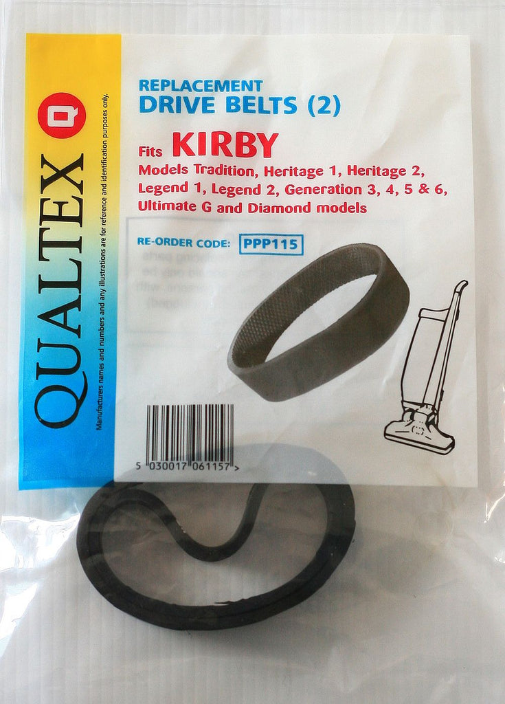 Kirby Drive Belts Heritage1,2 Legend1,2 G Series 2