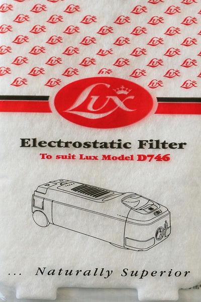 Electrolux D746 Exhaust Filter