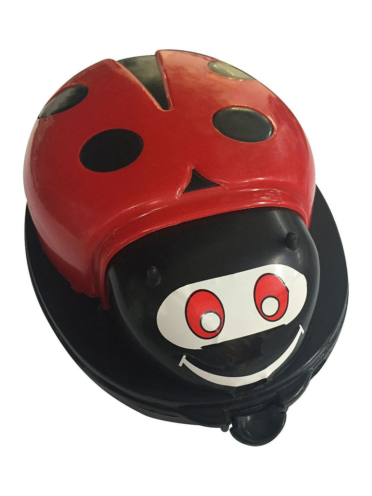 Sweeper Ladybug with dual rollers