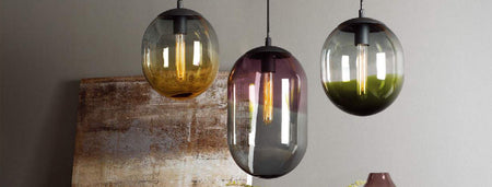 Decorative HOME Glass Pendent Lamps