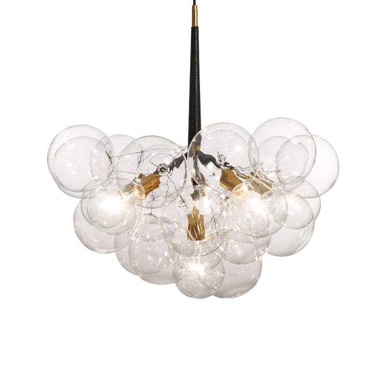 Cluster bubble glass pendant lamp: PL389
