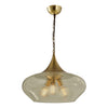 Pendant Lamp: Finnish Designer Glass- 7428CL - ESTLights Decorative Series