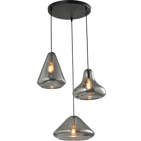 Pendant Lamp: Finnish Designer Glass- P61022 - ESTLights Decorative Series