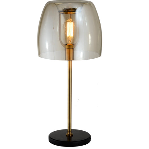 Table Lamp: Finnish Designer Glass- 5730T - ESTLights Decorative Series