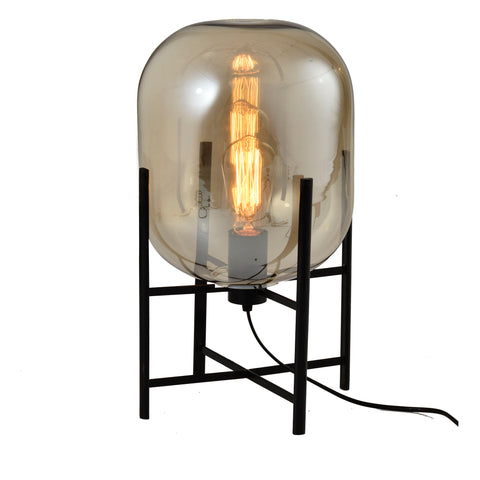 Table Lamp: Finnish Designer Glass- 7517T - ESTLights Decorative Series