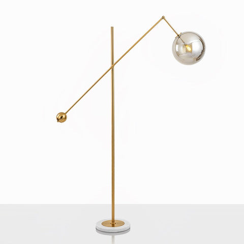 Glass floor lamp: FL099