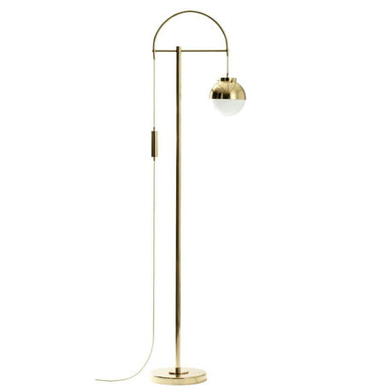 Golden floor lamp: FL100