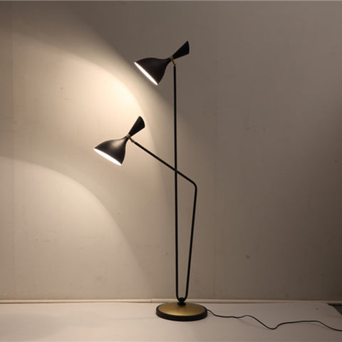 Double head floor lamp: OGS-LD310F