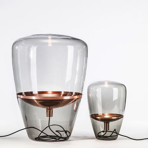 COMBO SET : Glass table lamp- OGS-GPL201T