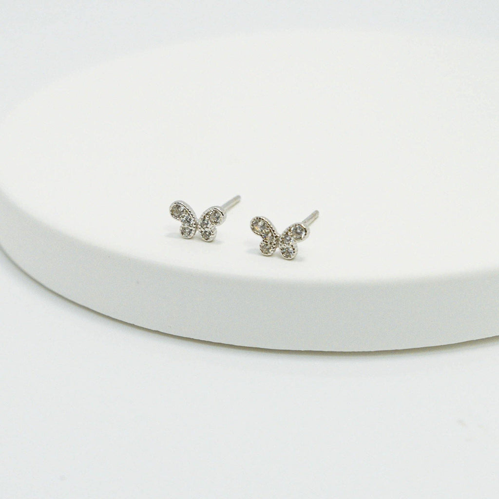 Mini Butterfly Stud (Sold Individually) - ShopHannaLee