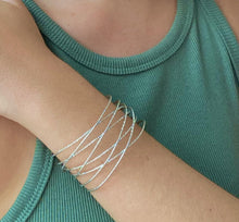 Load image into Gallery viewer, Criss Cross Cuff - ShopHannaLee