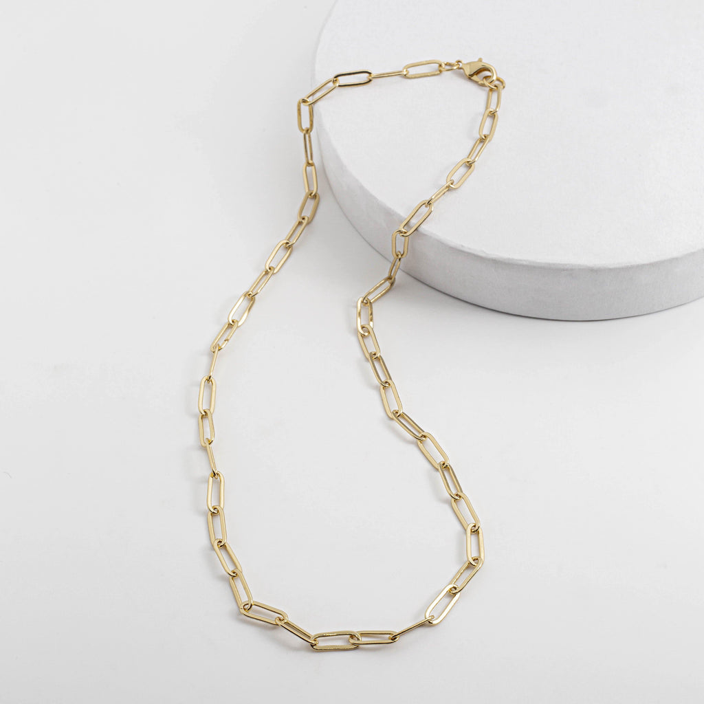 Medium Box Chain Necklace - ShopHannaLee