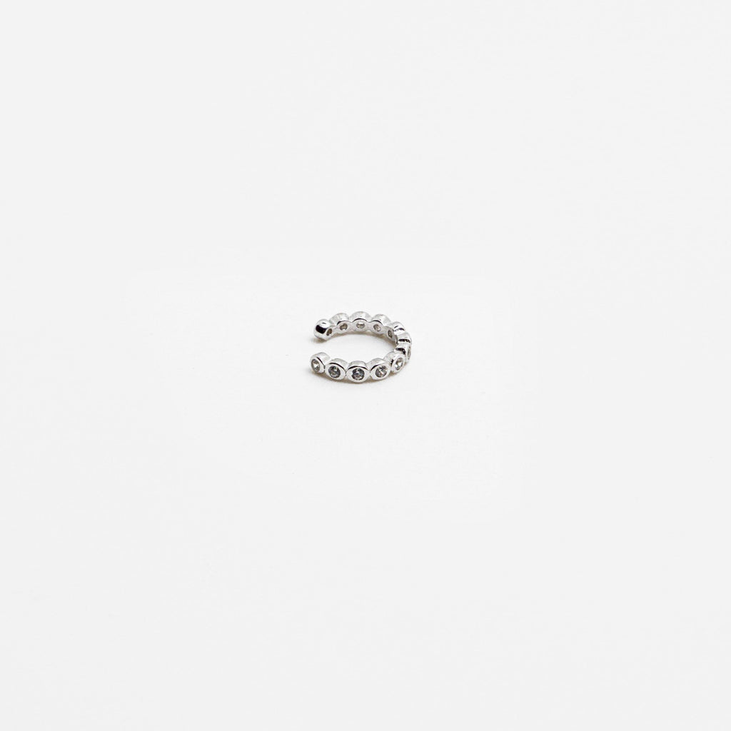 Mini Bezel Ear Cuff - ShopHannaLee