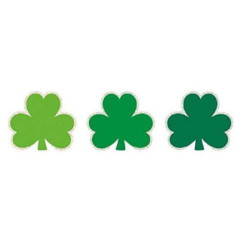 Amscan International 193116 6.3 cm St. Patrick\'s Day Super Value Mini Cutouts