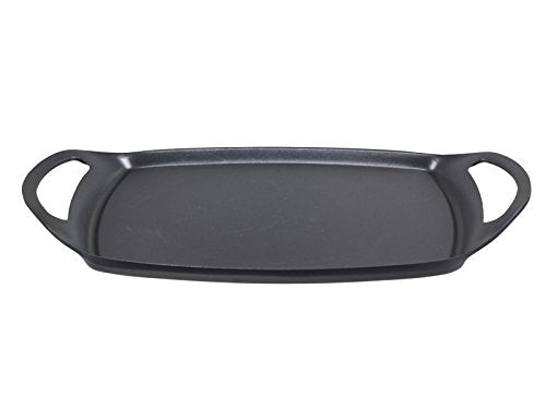 Beper Cast Aluminium Plain Grill Pan, Multi-Colour, 36 - 23 cm