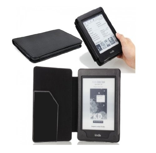 Tedim PU Leather Case/Wallet for 6 inch Amazon Kindle Paper - White