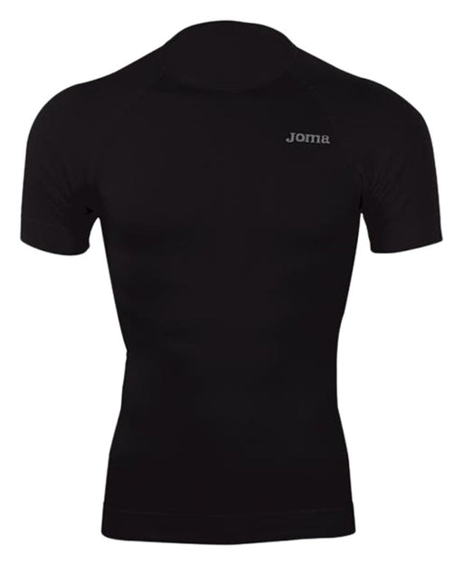 Joma Brama Classic - Short sleeved men's thermal T-shirt, colour black  Size L-XL