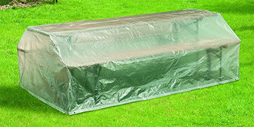Happy People 79271 Cover for Garden Beer Table Sets Transparent