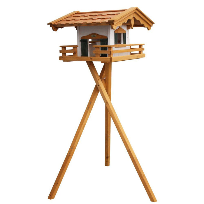 Habau 1795 'Mountain Chalet' Bird House with Stand