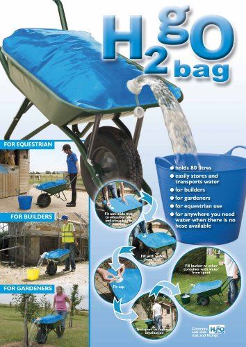 Planit Products H2go Water Carrier Bag, 80 Litre